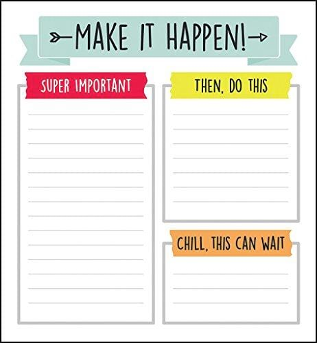Aim High Notepad