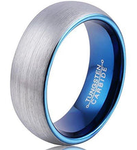 FCL Rings for Men Blue Plated Wedding Band