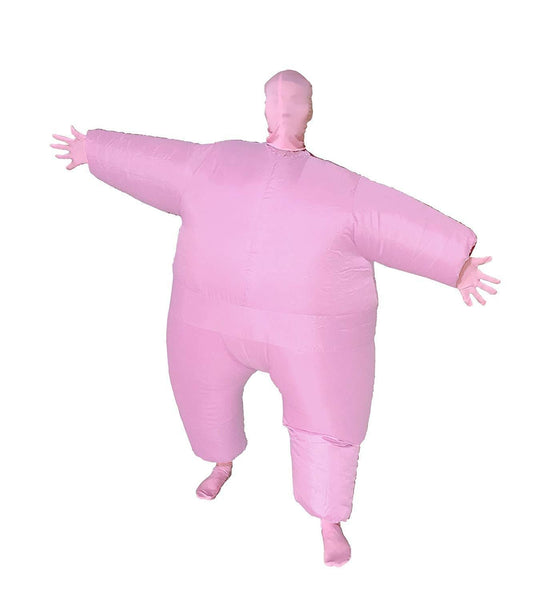 GoPrime Muscle Man Costume Inflatable Dancing Fancy Suit.