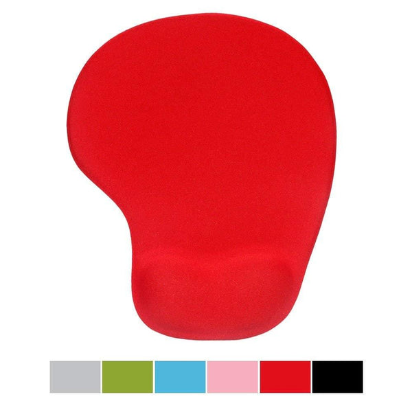Office Mousepad With Gel Wrist Support