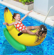 Greenco Giant Inflatable Ride-On Banana Float