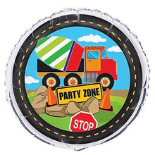 Construction Truck Birthday Dessert Plates