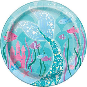 Mermaid Dessert Plates