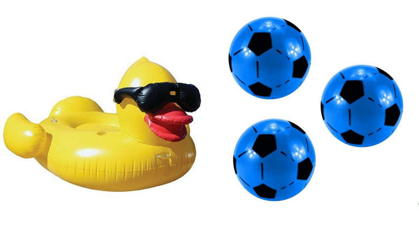 GAME Giant Derby Duck Inflatable Pool Float