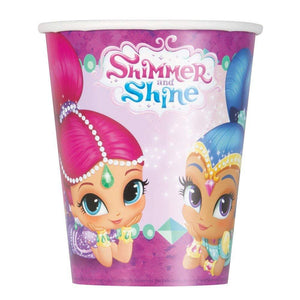 Shimmer and Shine Plastic Tablecloth