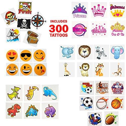 Temporary | Fake Tattoo Assortment for Kids