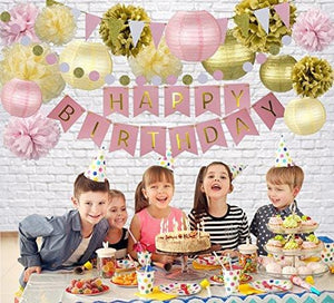 Birthday Party Decoration Set
