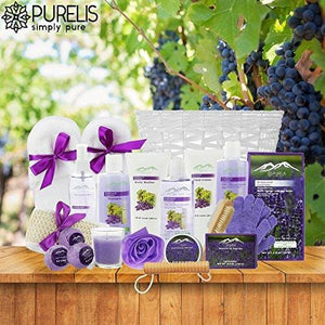 Deluxe XL Gourmet Spa Gift Basket with Essential Oils