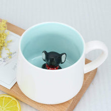 Surprise 3D Cartoon Miniature Animal Coffee Cup Mug