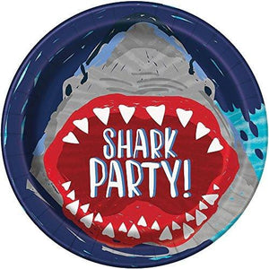 Shark Paper Party Plates