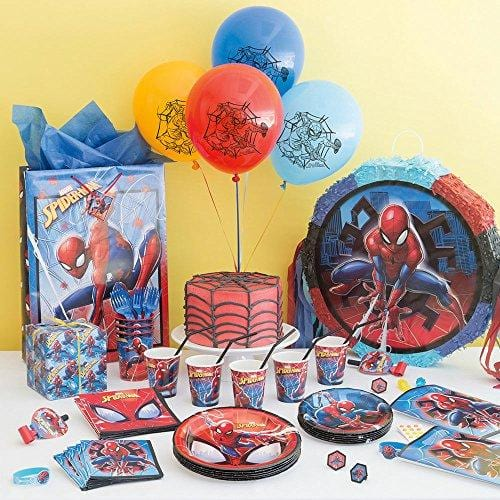 Unique Spiderman Pinata, Pull String