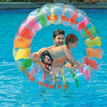 Water Wheel - Giant Inflatable Swimming Pool Water Wheel Toy