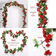 Artificial Rose Garlands