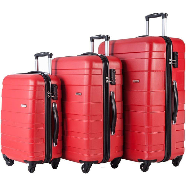 Merax MT Imagine Luggage Set 3 Piece Spinner Suitcase
