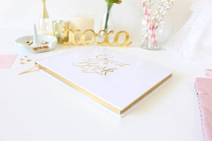 bloom daily planners Wedding Guest Book