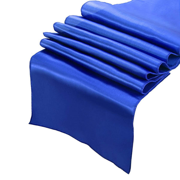 Bormart Pack of 10 Satin Table Runner