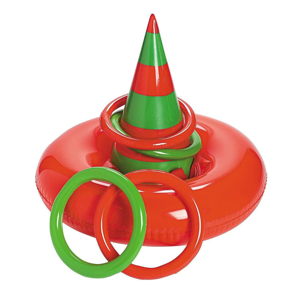 Inflatable ELF HAT Ring Toss CHRISTMAS Party GAME