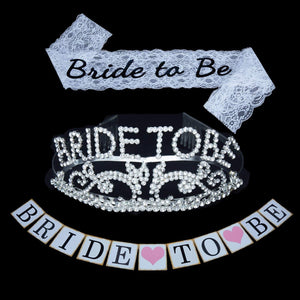 Bride to be Decoration Set for Bachelorette Party Supply