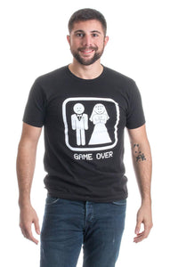 GAME OVER Funny Bachelor Party T-shirt