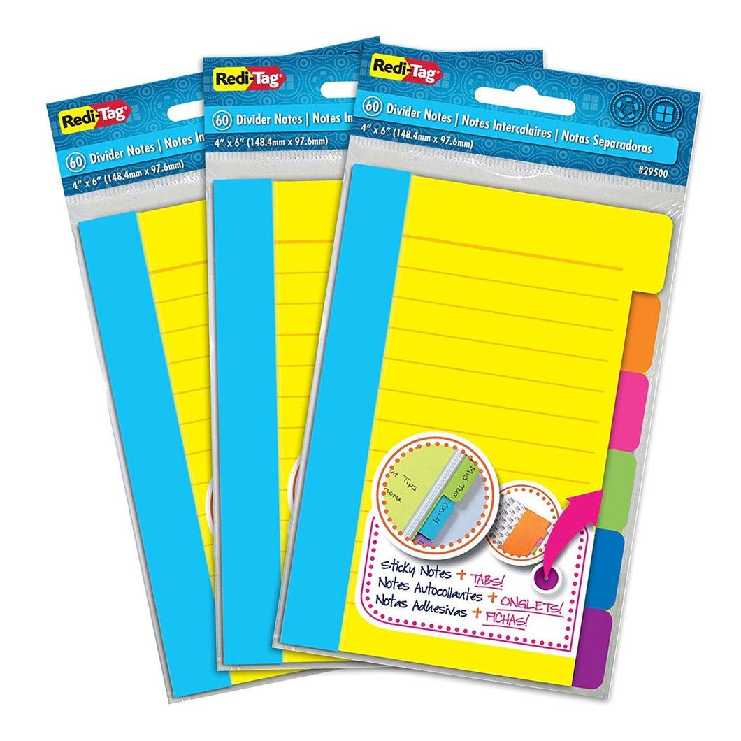 Tag Divider Sticky Notes