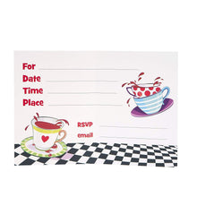Mad Hatter Tea Party Invitations