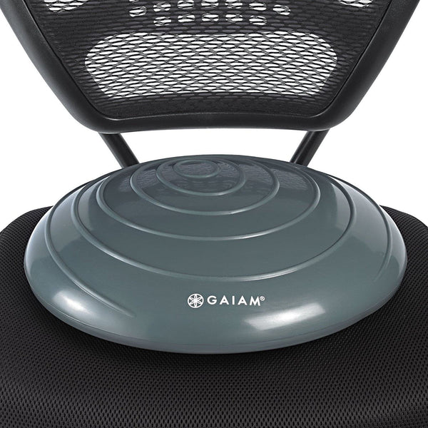Gaiam Balance Disc Wobble Cushion Stability Core Trainer