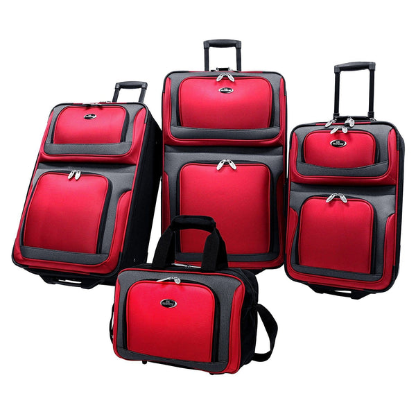 U.S Traveler New Yorker Lightweight Expandable Rolling Luggage