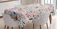 Birthday Decorations Tablecloth