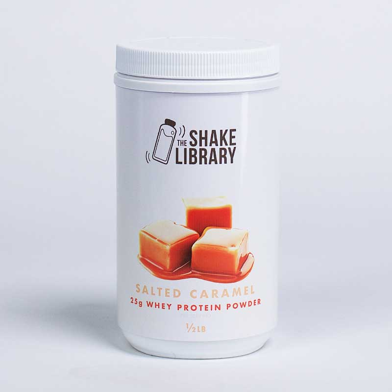Salted Caramel - The Shake Library