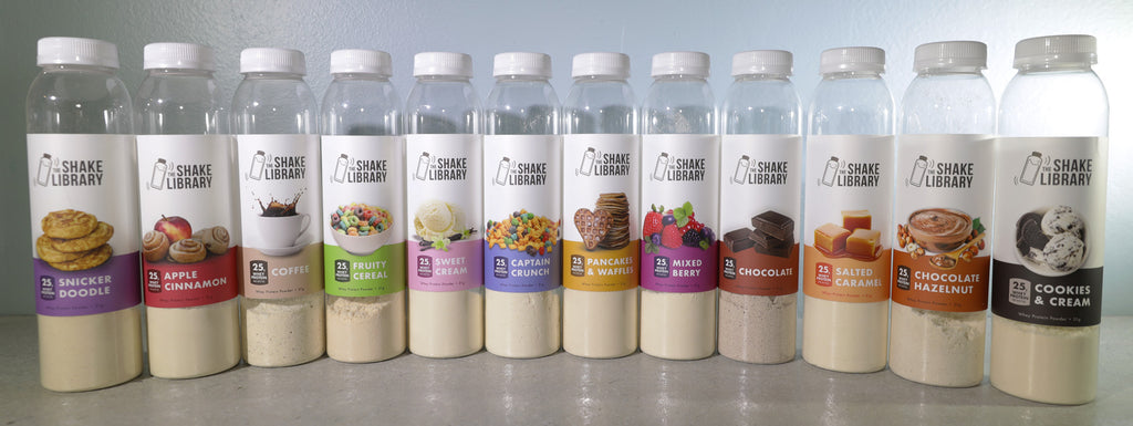 12 Bottle Protein Variety Pack - The Shake Library