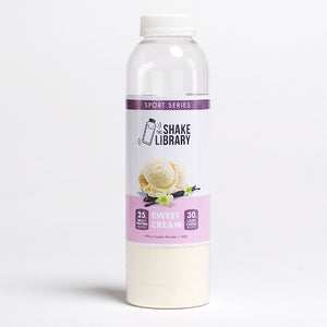 Sweet Cream - Sport Series - The Shake Library