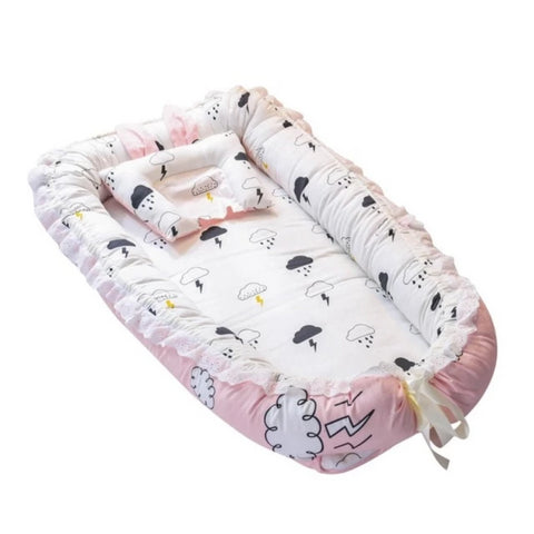 Baby Toddler Lounger, Portable Super Soft - INEX Kids