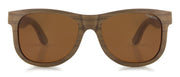 "Laminate Wood Sunglasses with Brown lenses ""Valencia"""