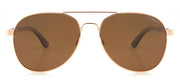 """San Marino"" Collection Brown Lenses"