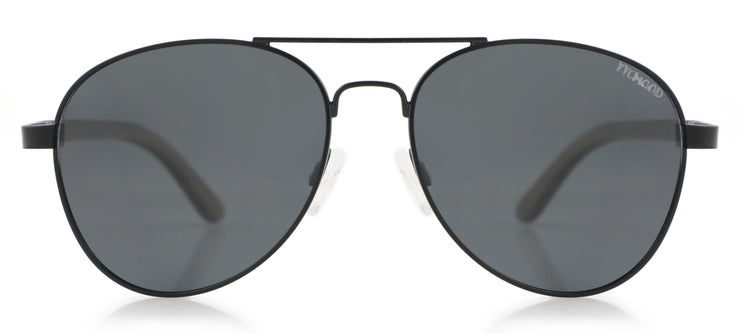 """San Marino Black"" Collection Grey Lenses"