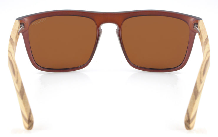 """Miranda"" Collection Brown Lenses"