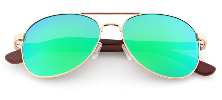 """San Marino"" Collection Green Lenses"