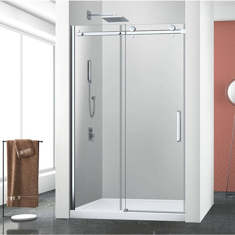 Bellini Alcove Frameless Shower Door