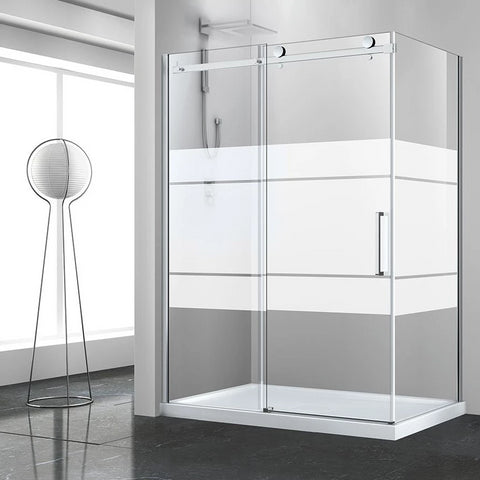 Bellini Corner Frameless Shower Door