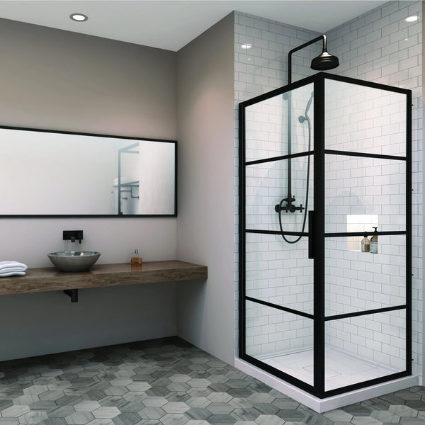 Materia Corner Shower Door
