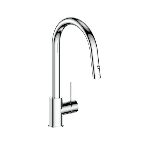 TRAUN B - Kitchen Faucet with 2-Function Pull-Down Spray