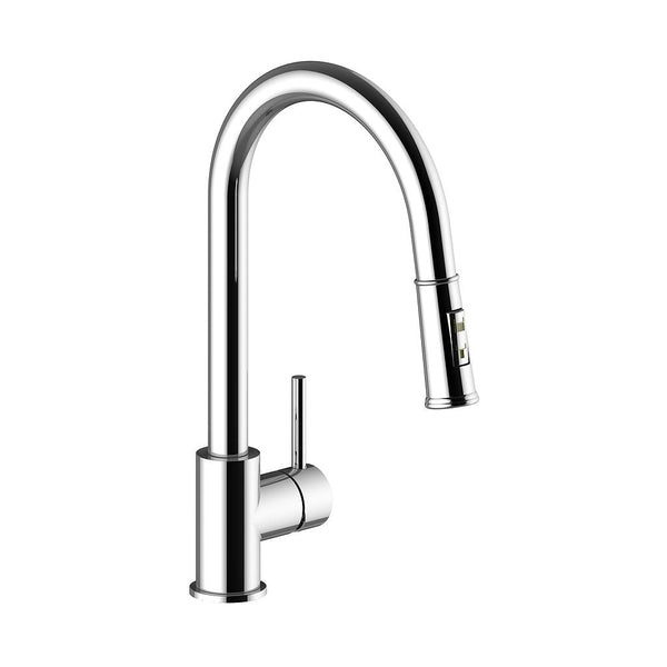 TRAUN D - Kitchen Faucet with 2-Function Pull-Down Spray