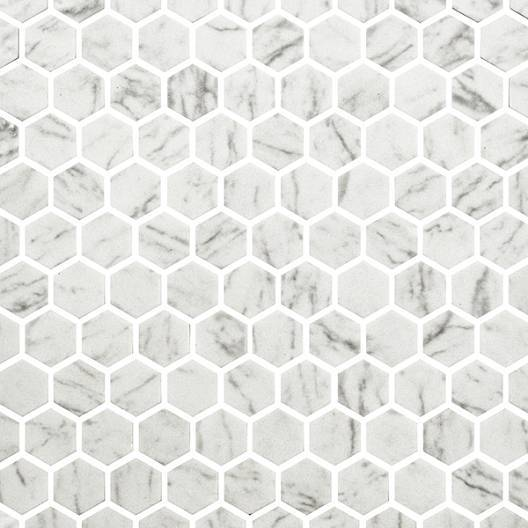 Marble Hexagonal Mosaic Tiles