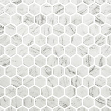 Load image into Gallery viewer, Marble Hexagonal Mosaic Tiles