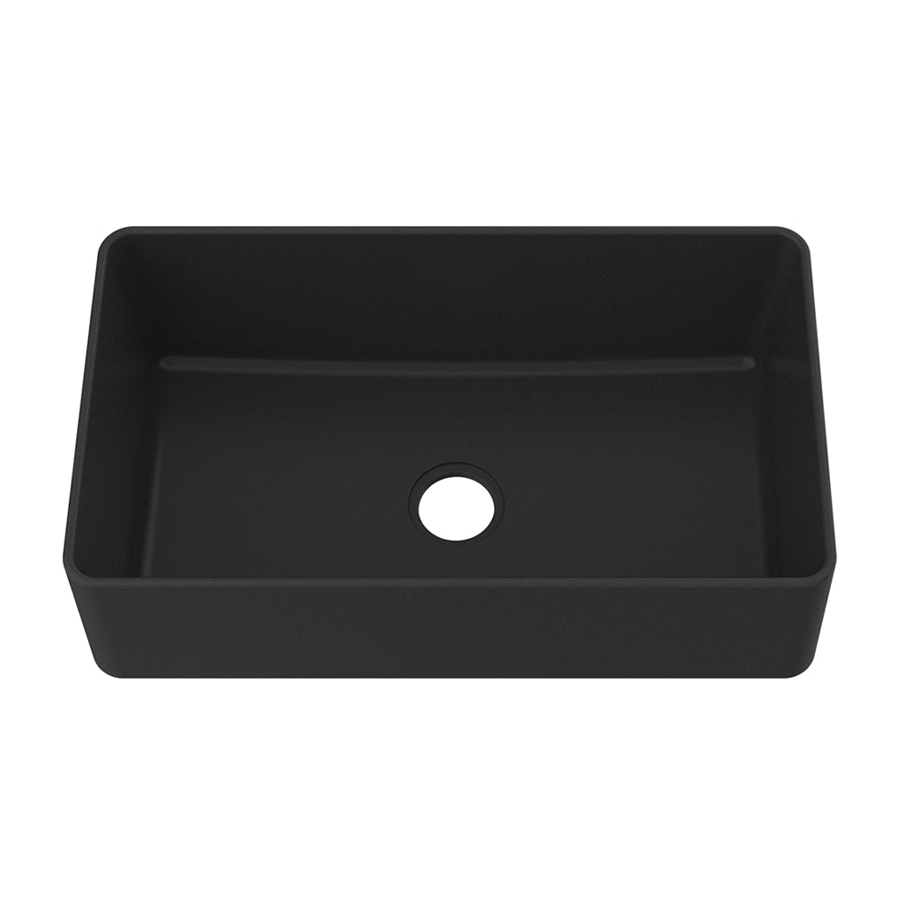 "NEUSTADT GS - Vogranite Apron Front Kitchen Sink - 33"" x 19 x 9"""