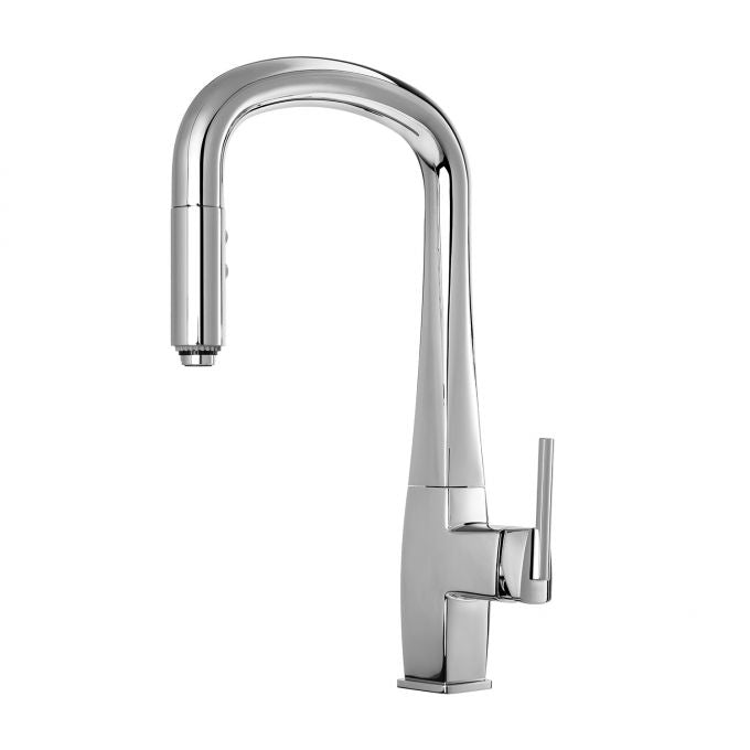 Eltio Collection Diver Pull Down Kitchen Faucet with Spray Head