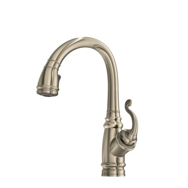 Monark Diver Pull Down Kitchen Faucet with Spray Head