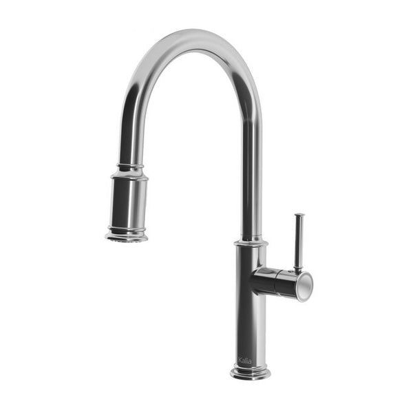 Okasion Pull Down Kitchen Faucet with Spray Head