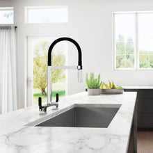 Load image into Gallery viewer, Skyridge Collection Kitchen Faucet with Spring Spout and Magnetic Spray Head