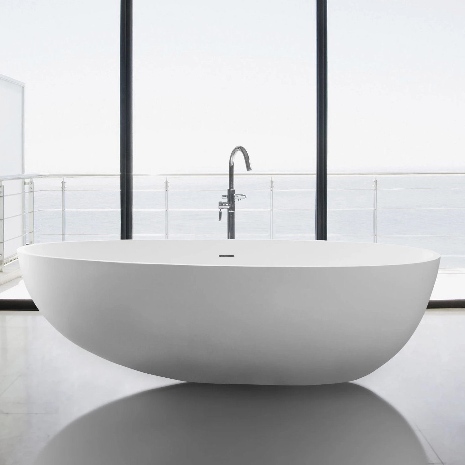 Nerissa Solid Surface Bathtub